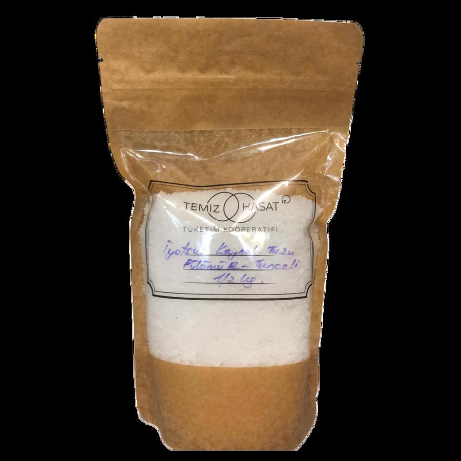 Pülümür - Tunceli - İyotsuz Öğütülmemiş Kaynak Tuzu